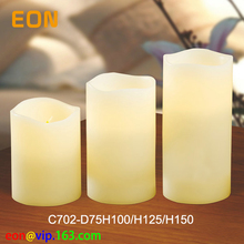 C702 Very cheap for WAL-MART 3 pack led flameless candle
