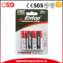 Good Quality Low Price 480mAh Carbon Zinc Battery