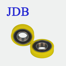 6004 rubber coated ball bearings for rear wheel