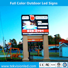 Double Side or Single Side Waterproof Full Color Led Signs Outdoor Display WIFI/3G Control