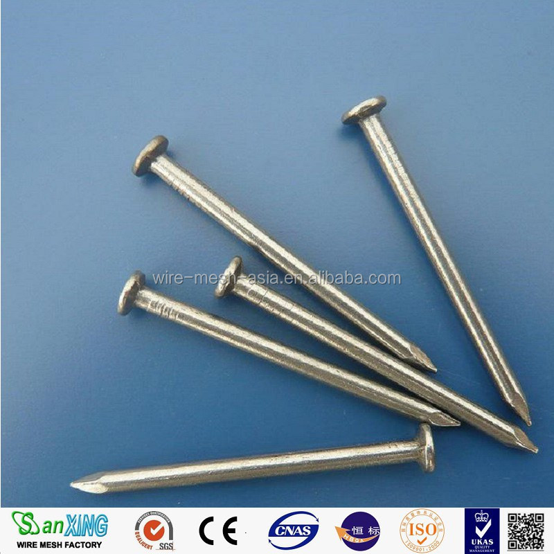 Polished galvansied round common nail/ roofing nails/common wire nails