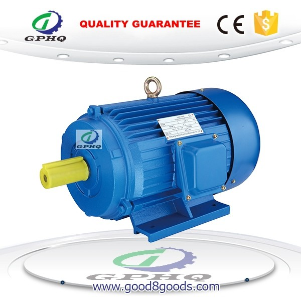 GPHQ y three phase 5hp ac electric induction motor