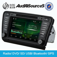 car DVD Player for Skoda Octavia A7 Bluetooth GPS supported USB touch screen