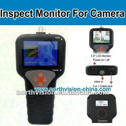 Super CCTV monitor surveillance camera tester with audio-video function