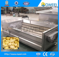 2017 New Product and Good Quality Cassava Washer and Peeler / Potato Peeling Machine Price