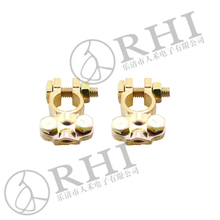 Universal car battery terminal / brass wire end terminal connector