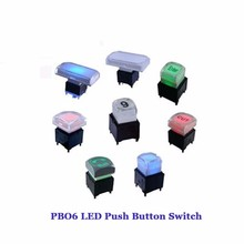 RoHS Approved Bi-color LED Push Button Switch For Broadcast Equipment