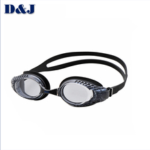 Custom Color Swimming Goggles Silicone, Silicone Gasket Swim Goggle with Diopter