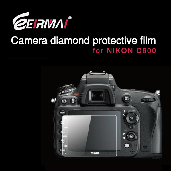 EIRMAI LCD camera screen protectors for Nikon D 600 oem/odm (High Clear)
