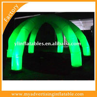 2016 new design inflatable tent with LED light for exhibition