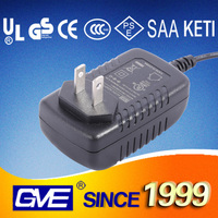 2016 110V AC to 12V 1250ma AC Power Adapter with PSE UL Certificate