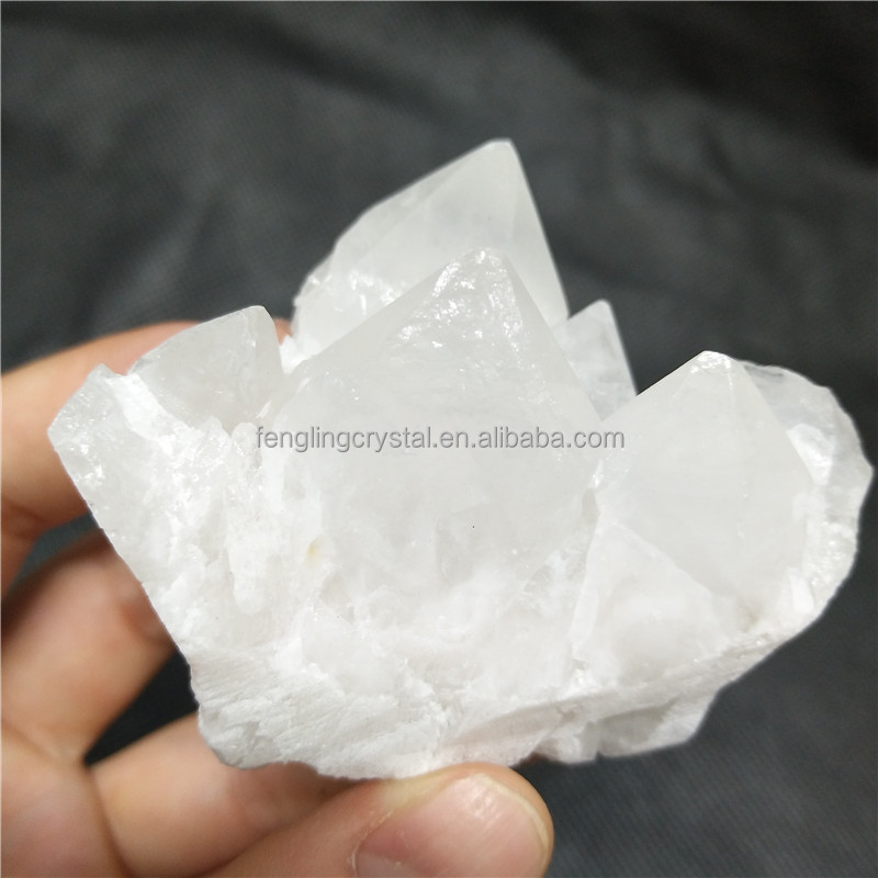 Natural Unique Rock Clear Skeletal Quartz Crystal Cluster Points for sale
