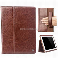 QIALINO top grade cover for ipad air 2 with genuine leather case for ipad 6