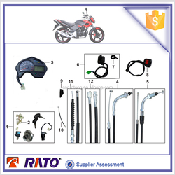 China wholesale FT180 motorcycle electric parts,motorcycle lock kit, motorcycle meter, motorcycle handle switches, etc.