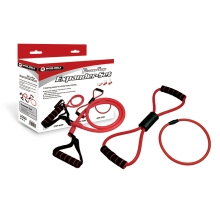 "Top quality soft fitness gear expander set 3 type resistance toning tube with ""8"" & ""0"" shape,horizontal tube expander"