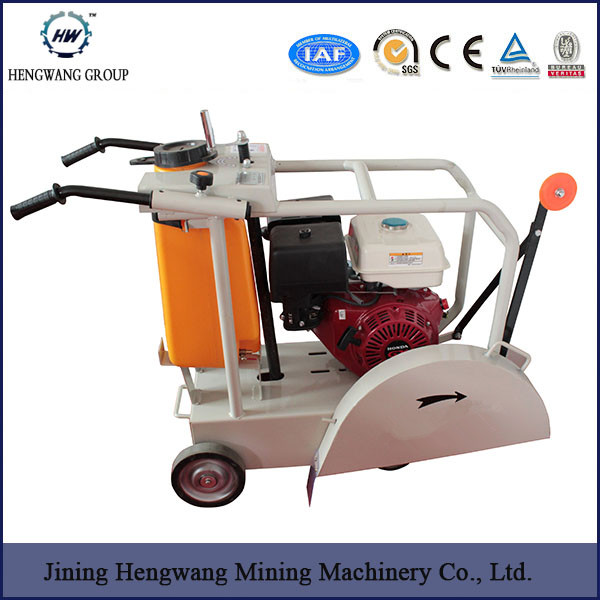 diesel engine road cutter walk behind concrete cutter 9HP road cutting machine asphalt road cutter 450mm asphalt cutting machine