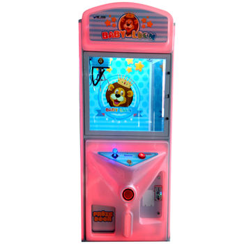 Elong Baby Lion toy claw crane game machine kids coin operated game machine prize gift machine