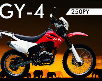 250cc Dirt Bike With air Cooled ZF250GY-4