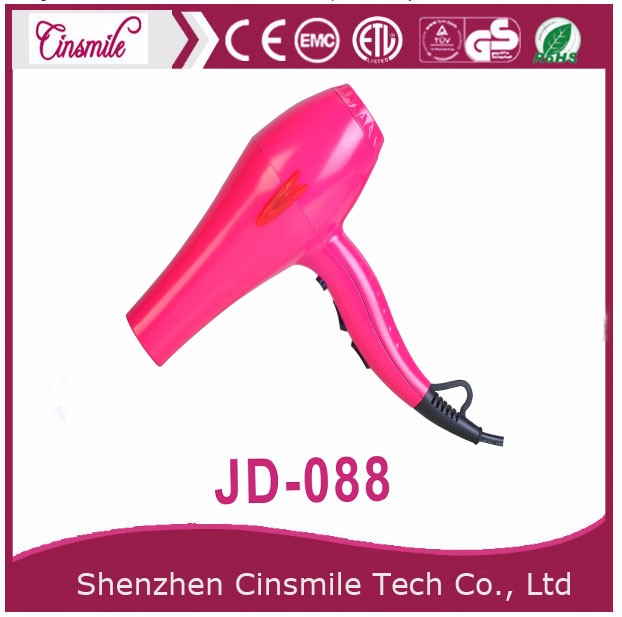 Travel hair dryer foldable rear cover