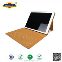 2015 New Arrival Ultra Slim Tablet Cover Case with Insert Keyboard New Design Tablet Case for ipad Pro