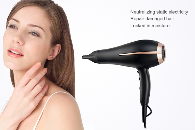 Household AC motor feature-rich professional salon hair dryer