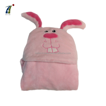 Best Quality Soft Animal Plush Warm Coral Fleece Blanket