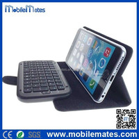 Wireless Bluetooth Keyboard with Leather Flip Case for iPhone 6 5.5 inch 4.7 inch, for iPhone 6 Bluetooth Keyboard Case
