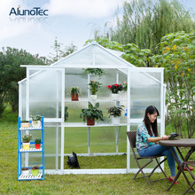 Garden Aluminium Commercial Greenhouse For Sale