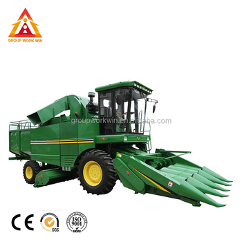 Wheat Maize Silage Combine Harvester Machine
