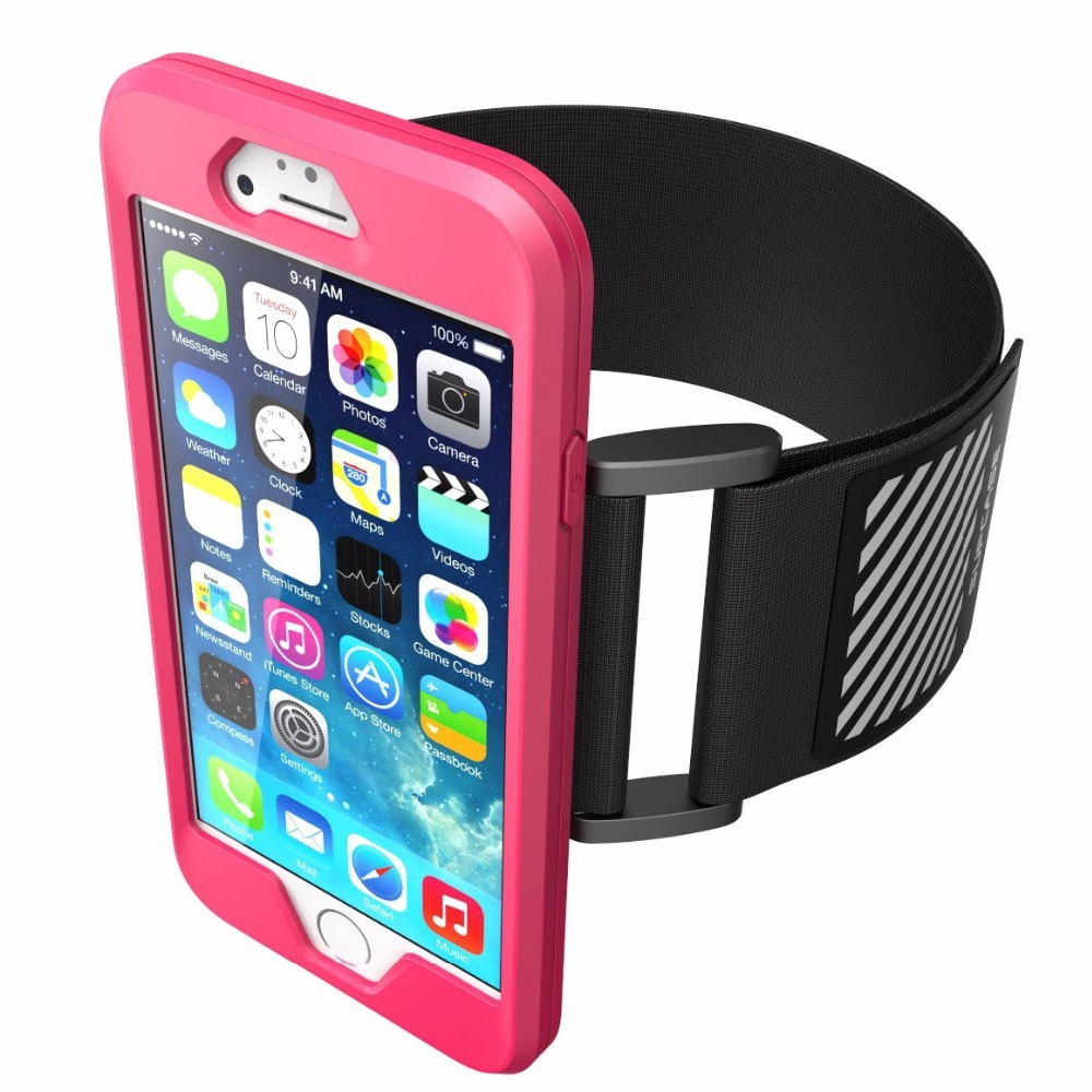 Neoprene running armband phone case