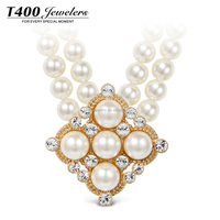 T400 Accessories For Women Jewelry Pearl Necklace