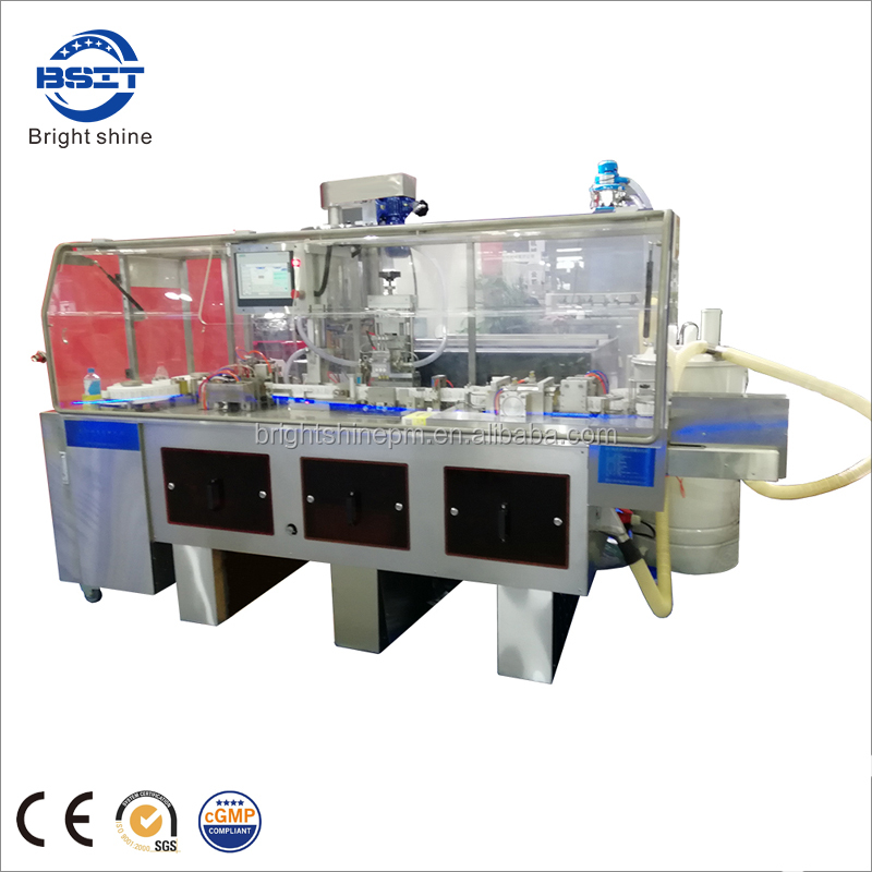 ZS-3 automatic pharmaceutical duck-mouth suppository thermoforming filling sealing machine