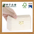 Wholesales handmade unfinished small wooden keepsake boxes