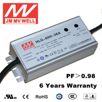 constant current dimmable led driver 80W waterproof IP65 36v power supply 48v with UL TUV CB CE RoHS CCC EMC