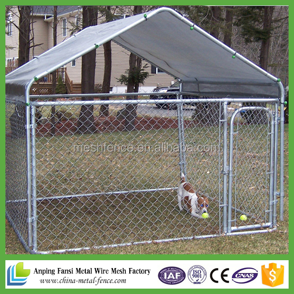 Alibaba wholesale Large outdoor modular dog kennel kennels for dog/iron fence dog kennel/dog kennel fence panel