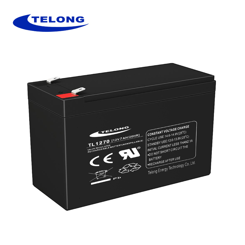 Rechargeable 12v 7ah solar energy storage battery maintenance free 12v 7ah battery
