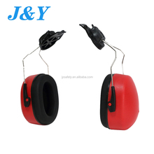 Cap-mounted Helmet Mounted Quick-click Height Adjustment Ear Muffs Ear Defender Noise Reduction For Safety Indsutrial