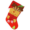 Christmas Supplies New Santa Claus Socks Decoration For Hanging