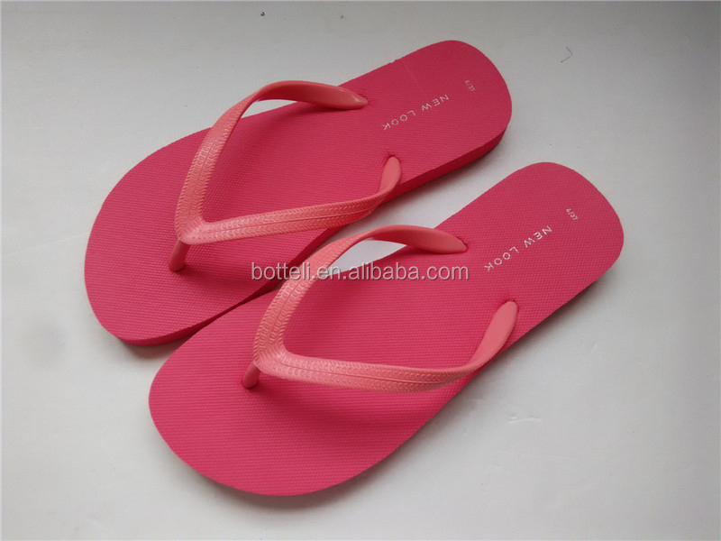 thong beach slipper wholesale cheap pink wedding flip flops