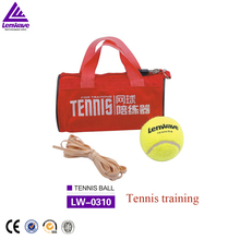 Wholesale Lenwave 2pcs packing tennis sparring device professional training tennis balls to rookie playing