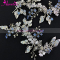 Silver & Gold Color Handmade Blossom Sweet Headband Wedding Floral Charm Headpiece Bridal Accessories