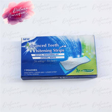 High Quality Advanced Non Peroxide Home crest Whitestrips Teeth Whitening Gel Strips for Charming Smile