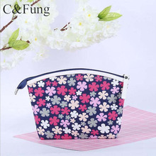 Best Selling Promotional Clear oxford cloth Fashion Travel Cosmetic Bag