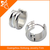 Cheap China factory high quality 316l stainless steel new fashion earrings with shell