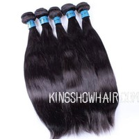 8A grade 100% brazilian human hair weaving straight
