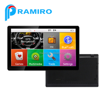 7 inch car gps auto navigator with romania map and more