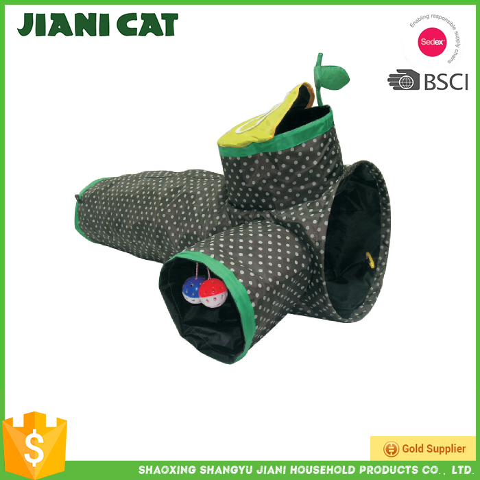 New Style Factory Directly Provide Cat Tunnel Wholesale Cat Toys