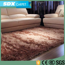 Modern Thick Carpet Tiles Microfiber Shaggy Rugs For Living Room