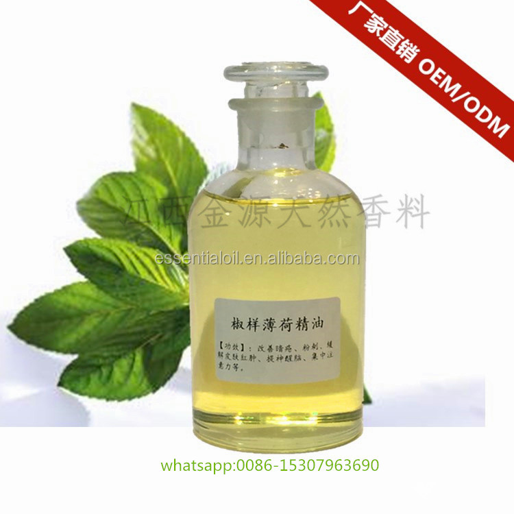 Top supplier offer Natural Peppermint oil/menthol oil with reasonable price