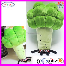 A878 Soft Green Vegetable Veggie Doll Stuffed Plush Vegetable Doll
